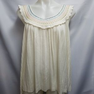 Anthropologie Guinevere Boho Sweater Top Large